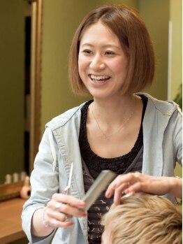 ナウアンドゼン(Now&Then)の写真/★葛西駅徒歩3分★髪の悩みを分かってくれるスタイリストが最後まで担当!1対1の空間を大切にします。