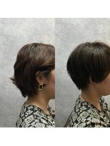 セブン ヘア ワークス(Seven Hair Works)[カラーベーシック]カットでクセを収める