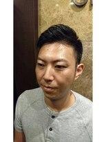 バルビエ グラン 銀座(barbier GRAND)お洒落7:3ショートスタイル <理容室>