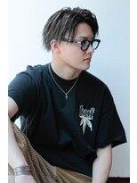 アイリーヘアデザイン(IRIE HAIR DESIGN)【IRIE HAIR赤坂】かき上げヘア×ツイストパーマ×コンマヘア