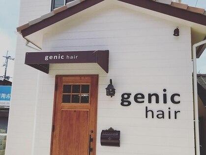 ジェニックヘアー(genic hair)の写真