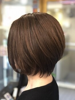 プレゴ(plego)の写真/オーガニックの薬剤だから頭皮も髪もダメージを最小限に◎美しい髪を保ちたい要望にお応えするカラー。