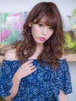 オーブ ヘアー フィオーレ 京都桂店(AUBE HAIR fiore)巻き髪風♪小顔パーマスタイル