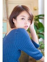 アンカラン(un Calin)髪質改善30代40代♪大人ショートボブ×白髪染めブラウン