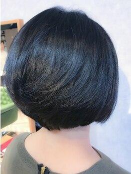 ヘアーサロンカルド(hair salon CALDO)の写真/《92%天然由来成分》のヘアカラーを使用!!髪へのダメージを最小限に抑え、今の髪と未来の髪の輝きを守る☆