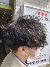 インディゴブルー バーム店(INDIGO BLUE)メッシュ×スパイラルパーマ