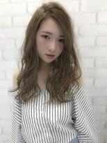 ルノン シェリー(LUNON cheliy)【LUNON cheliy】透け感UP!×外国人風アッシュベージュカラー