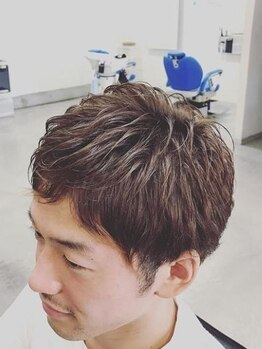 ヘア デザイン リブレ(Hair Design Libre)の写真/【JR南草津駅・平日21:00】仕事の時はビシッと決まる。プライベートは気取りすぎずカジュアルに…