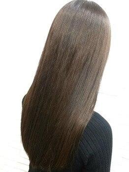 ギンザカミノア 高崎店(GINZA CAMINOIA)の写真/今までにない新しい質感の反応型トリートメント<リンク>。髪の内部に栄養をたっぷりと浸透させハリコシ◎