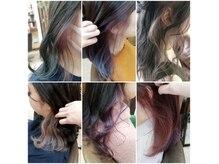 プリーム ヘアー(Pleame hair)の雰囲気(人気のインナーカラー♪インナーブリーチするのがおすすめです☆)