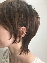 【丸みで女性らしく】peeps hair MASAこなれマッシュウルフ