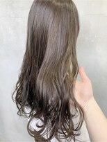 ロッジ 原宿店(RODGE)【nana】アッシュブラウン イルミナカラー 髪質改善