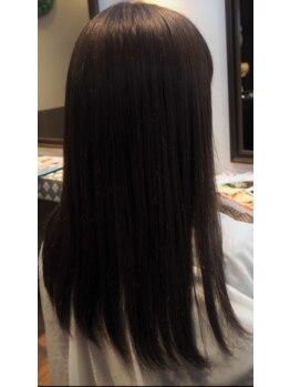 ヘアスタジオアネックス 枚方店(Hair Studio ANNEX)の写真/【枚方市駅】上質なツヤ感にみんな夢中!!悩みのうねり・クセをしっかり矯正、さらさらストレートヘアーに☆
