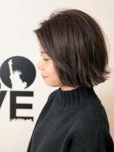 ヘアーアンドメイク ニューヨークニューヨーク 姫路店(Hair&Make NYNY)【切りっぱなしワンレンボブ】