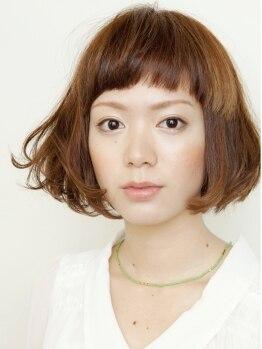 ヤヨイヘアー(YAYOI HAIR)の写真/【理想の骨格へ☆カット技術で変わる!】髪質に合わせた毛量調整でナチュラルで上品な小顔美人になれる♪
