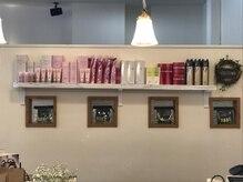 カッツカンパニー イオン唐津店の雰囲気(頭皮や髪の悩みに合わせてシャンプーやトリートメント選べます!)