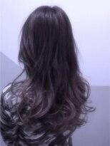 【miel hair bijoux】グラデーション♪パープルアッシュ