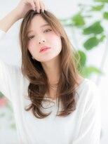 ココデサロン ハナレ 浅草(cocode salon HANARE)【浅草美容院HANARE】ペールベージュで♪ロングくびれヘアc