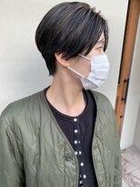 ヘアー アイス ルーチェ(HAIR ICI LUCE)担当 西田 ハンサムショート ショートヘア