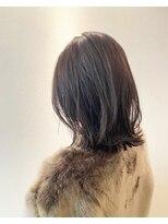 ハナサカヤヘアーサロン(hanasakaya hair salon)透明感カラー×グレージュ