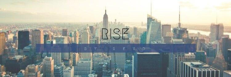 ライズ バイ レボ(RISE by REVO)のサロンヘッダー