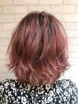 ヘアーアンドメイククリアー(Hair&Make CLEAR)ピンクグラデーション