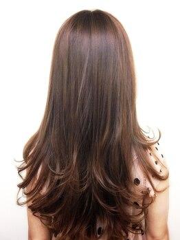 ヘアガーデン ルピアス(Hair Garden L'pias)の写真/【毎日22時まで全MENU受付OK】全国的に注目されている【L'pias】の縮毛矯正で可愛く自然で綺麗に大変身♪