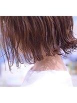 ホワイト 梅田(white)レイヤーボブ×シフォンブランジュ