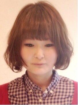 マウロア ヘアーサロン(Mauloa hair salon)フワくしゅ☆無造作ボブ