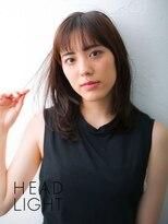 アーサス ヘアー デザイン 駅南店(Ursus hair Design by HEAD LIGHT)*Ursus* ミディアムナチュラルストレート