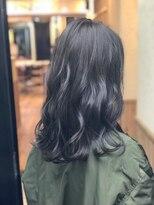 【ReiZ渋谷】暗髪ブルージュ 3Dカラー☆イルミナカラー