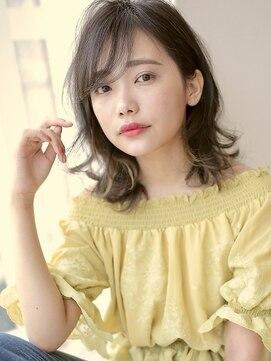 アグヘアー マーク 酒田下安店(Agu hair marc)インナーカラー×柔らかフェミニンシルエット