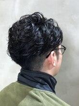 リンダテーラ(Linda tela)men's cut+perm    【札幌 マッシュ】