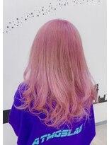 ヘアーサロン エール 原宿(hair salon ailes)(ailes 原宿)style429 パステルPink☆デザインカラー