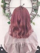 ヘアーサロン エール 原宿(hair salon ailes)(ailes原宿)ローズピンク