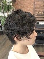 プロキシムヘアワークス(proxim hair works)ツーブロックパーマスタイル