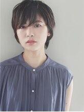 モッズ ヘア 横浜西口店(mod's hair)黒髮ショート 【DANY 2018S/S】