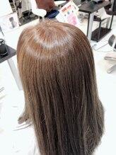 ルール オブ ビューティー ヘアー 花園サロン(rule of beauty hair)ピカピカセミロング