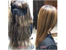 ブローテ ヘアアンドメイク(brote hair&make)の雰囲気(今までの縮毛矯正の常識をくつがえす、最高難易度な縮毛矯正)
