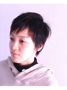 ヘアーカーブ(haircarve)haircarve春☆コットンニュアンス・ショート
