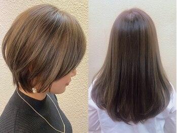 """ヘアリゾート ディアリウム(Hair Resort DEARIUM)の写真/""""白髪を増やさずに予防""""明るく/美しく/染みにくい白髪染めがお洒落を楽しみたい大人女性に大人気【町田】"""