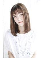 シュシュット(chouchoute)小顔セミウェットウェーブハイライトカラー美髪オリーブカラー45