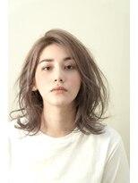 ヘアー メイツ ニューヨーク 学芸大学(Hair Mates NewYork)欧米風クールベージュレイヤー