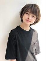 ☆ひし形シルエット×ショートボブ☆「Agu hair」