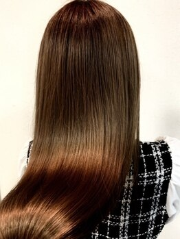 ヘアーサロン サザン(HAIR SALON)の写真/うねりや髪にお悩みの方必見☆サブリミック取扱店で、髪にハリやコシを与え指通りなめらかな艶髪へ導きます