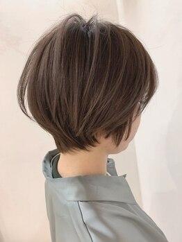 """トレヘアー(tRe hair)の写真/【二条駅徒歩5分】ダメージが気になる方も安心◎頭皮・髪に優しい薬剤であなたの""""なりたい""""髪色が叶う♪"""