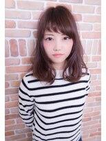 ロアール 大垣店(LOAOL)アシメ前髪がかわいい小顔ヘア☆
