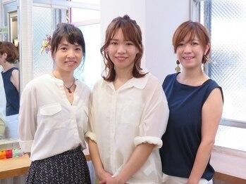 ヘアーアンドメイク エイダ(hair&make eida)の写真/≪神保町駅1分≫女性目線ならではの丁寧なカウンセリングでライフスタイルにフィットするスタイルに♪