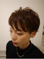 ヘアー カラー キー(HAIR color KEY)ハンサムショート