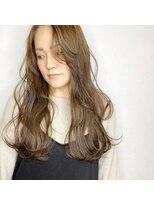 ソース ヘア アトリエ 京橋(Source hair atelier)【SOURCE】緩まきベージュ